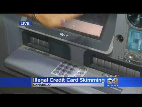 Warning Issued About Credit Card Skimmers