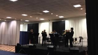 Seleção de Carimbó Brasil Trumpet Ensamble no ITG 2014