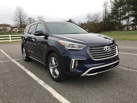 2017 Hyundai Santa Fe Limited Redline Review Youtube
