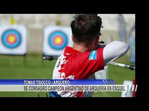 Tomás Tisocco se consagró Campeón Argentino