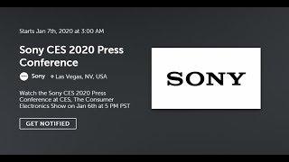 SONY CES 2020 На Русском: PS5, Xperia 3, Sony WH-1000XM4