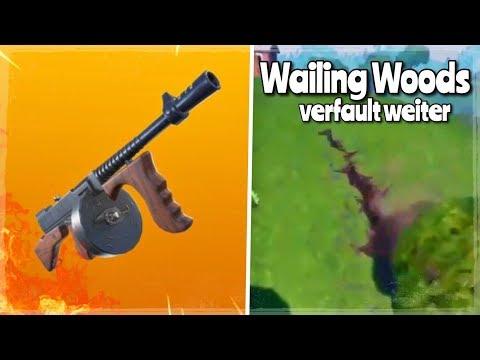 MOIN🔥 NEUER MODUS mit Tommy Gun + WAILING WOODS verfault│Fortnite Battle Royale thumbnail