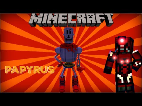 minecraft xbox 360 undertale papyrus