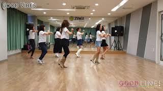 Good Vibes Line Dance - Improver (Demo)
