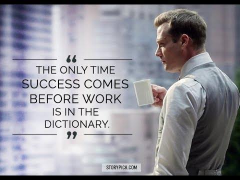 Suits Hd Wallpaper Quotes Harvey Specter Self Made Entrepreneur Motivation Suits