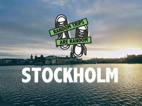 Random trips are random: A weekend in Stockholm, Sweden