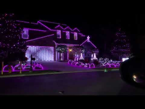 Ding Dong Merrily On High Christmas Lights