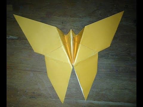 Cách gấp con bướm Origami Butterfly
