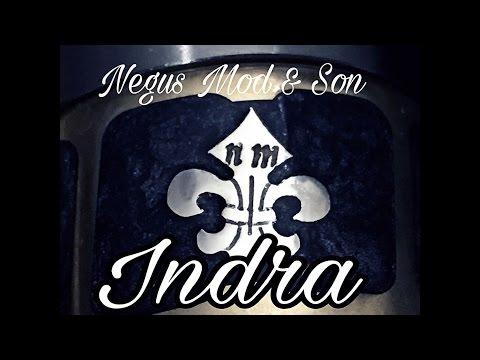 Negus Mod & Son Indra Mechanical Tube Mod. A Modern Art Masterpiece