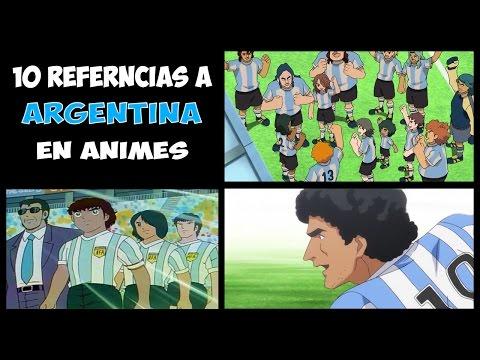 10 Referencias a Argentina en el Anime (Maradona y Messi anime)