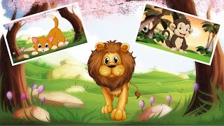 Learn Animals -  Kids Puzzles | Kids Puzzles Games - Cartoon Videos for Children