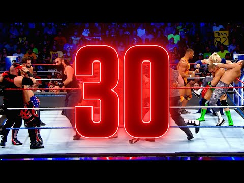 The Royal Rumble Match by the numbers