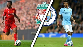 Sterling in Liverpool Vs Sterling in Manchester City | Skills & Goals | Which is better?