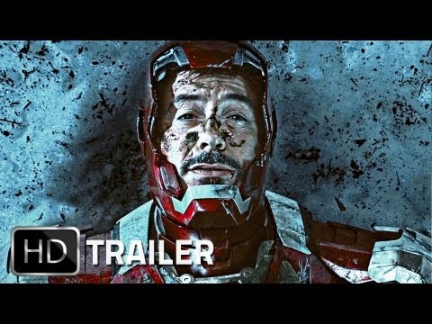 IRON MAN 3 - Official Trailer German Deutsch HD 2013 | Marvel