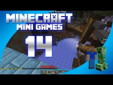 Minecraft Mini Games Episode 14 - Dwarves vs Zombies
