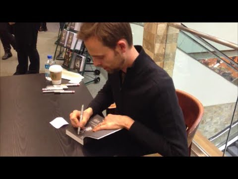 Ransom Riggs Signing Vlog + Giveaway [CLOSED]