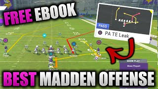 One Play Touchdown - NO ADJUSTMENTS | Full Guide to Best Madden Offense | Raiders Free Ebook Pt. 1