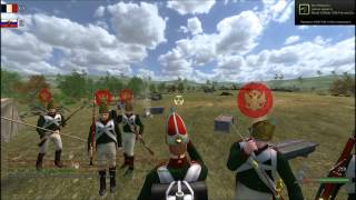 Napoleonic wars.line battle 30.07.2012. Borodino