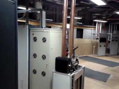 JESTED - Technical room of the TV and Radio Broadcast
