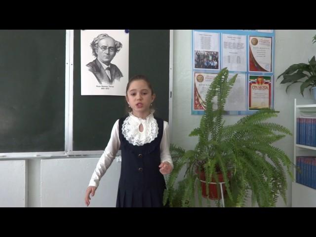 Изображение предпросмотра прочтения – ОльгаШулякова читает произведение «Есть в осени первоначальной...» Ф.И.Тютчева