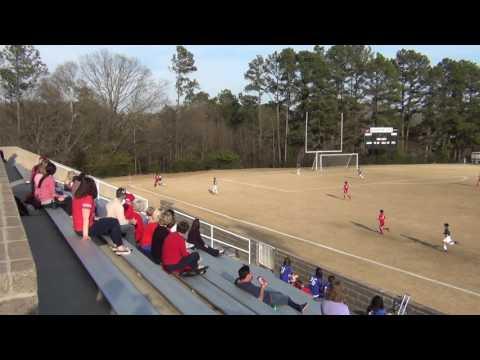 Athens Academy Grade 7 Soccer 3/20/2017 First Half