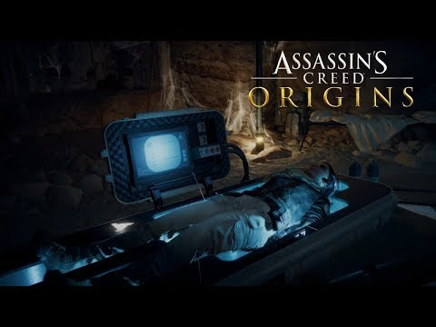 Assassin's Creed Origins Escape From Animus|Real World Explore