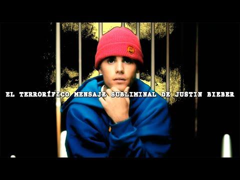 El terrorífico mensaje subliminal de Justin Bieber