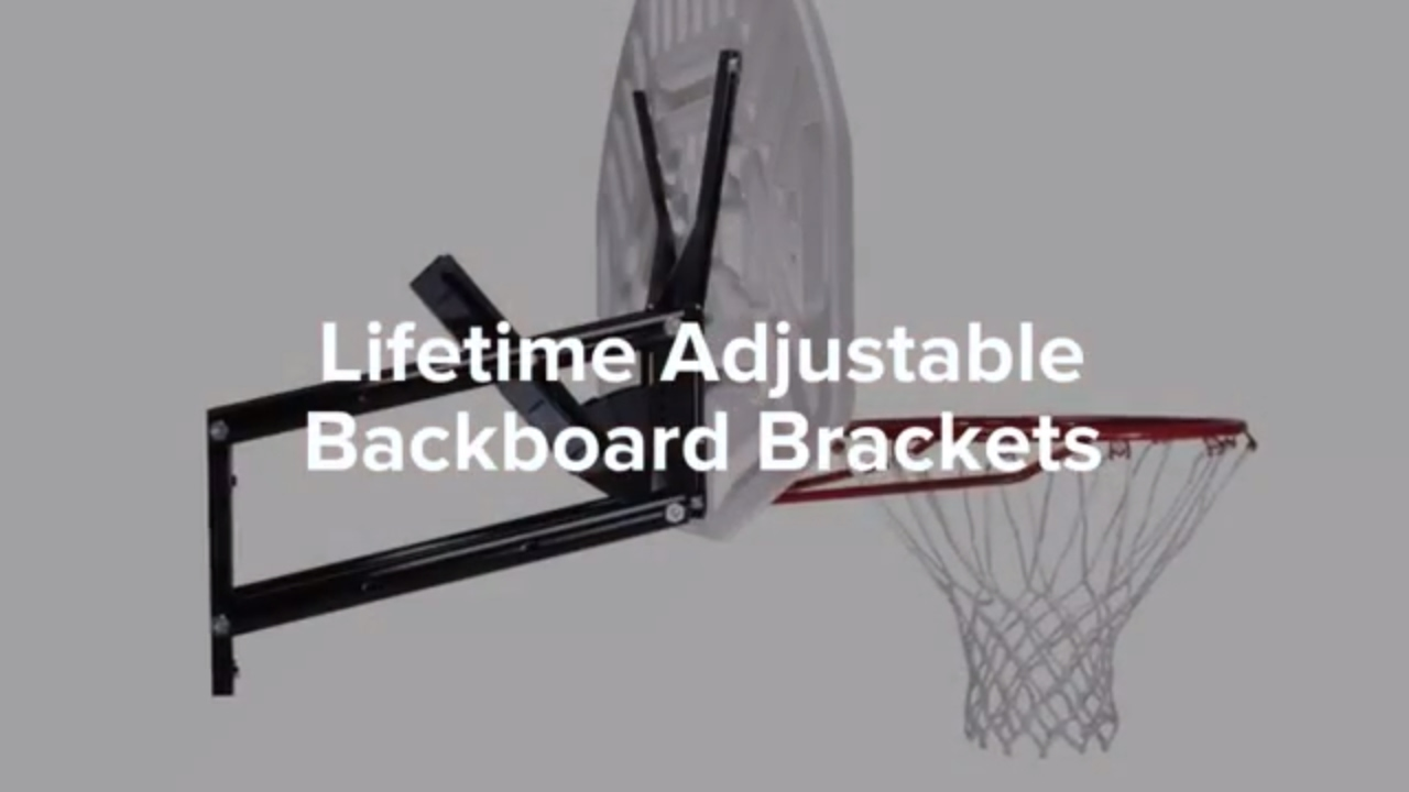 Lifetime 1044 Basketball Adjustable Backboard Brackets