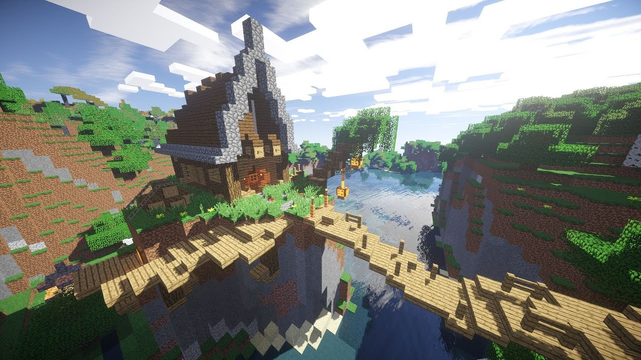 Minecraft how to build haus am berg hd youtube for Modernes haus am berg