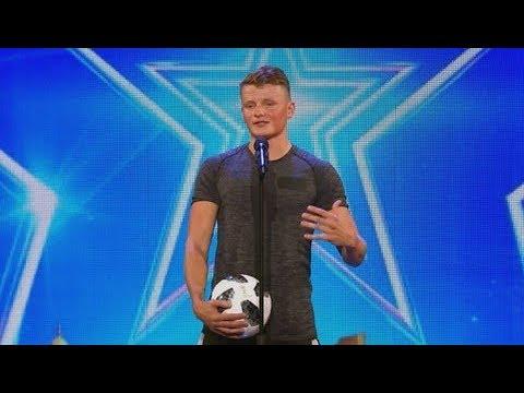 Jamie Knight - Got Talent - Freestyle Footballer
