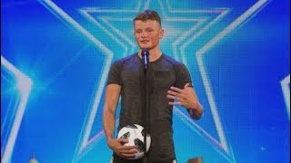 Jamie Knight - Got Talent - Freestyle Footballer