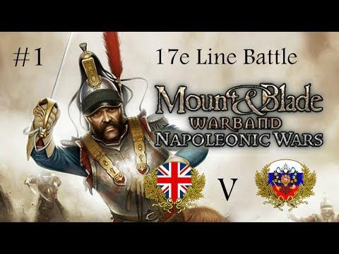 United Kingdom vs Russian Empire | Mount & Blade Warband : Napoleonic Wars