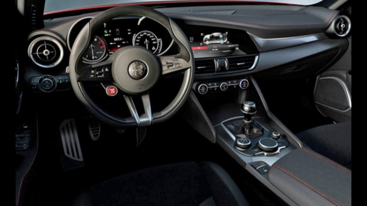 Interior 2018 New Alfa Romeo Giulia Youtube