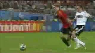 Germany 0-1 Spain 30/6/2008 torres goal