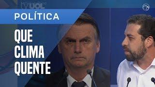 BOLSONARO E BOULOS TROCAM ACUSAÇÕES EM DEBATE - ESQUENTOU!