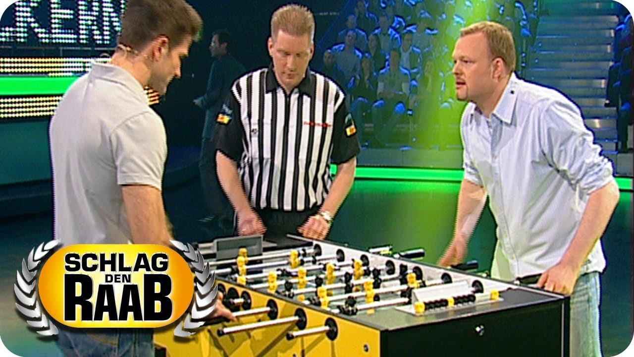 Kickern | Raab vs. Matthias | Spiel 1 - Schlag den Raab #3