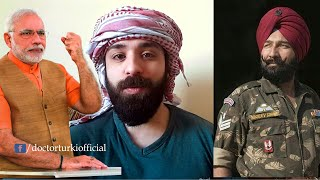 Reply To Indian Modi Sarkar Over Humiliating Sikh Soldiers