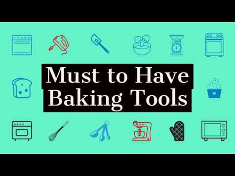Top 15 Baking Tools For Beginners And Their Uses