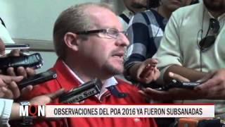 01/09/15  14:53 OBSERVACIONES DEL POA 2016 YA FUERON SUBSANADAS