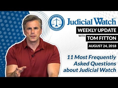 Tom Fitton Answers 11 FAQs About JW Battles: Deep State, Clinton Emails, Corruption in D.C.