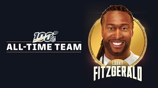 Larry Fitzgerald Selected to #NFL100 All-Time Team | Arizona Cardinals