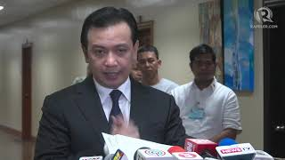 Trillanes presents affidavits of Ex-amnesty panel chair, official