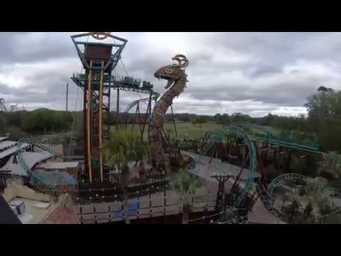 Cobra 39 s curse front row pov at busch gardens tampa bay florida youtube for Busch gardens tampa bay cobra s curse