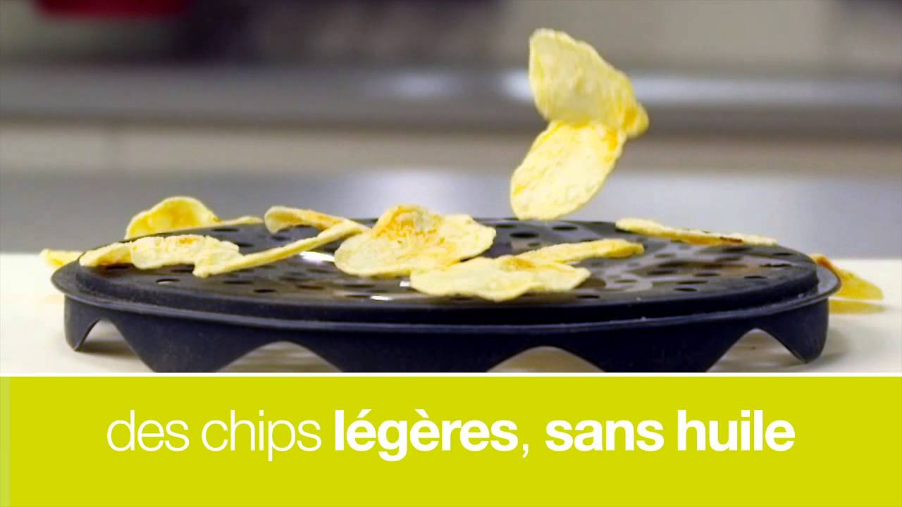 Masterchips cuit chips au micro ondes youtube for Chips betterave micro onde
