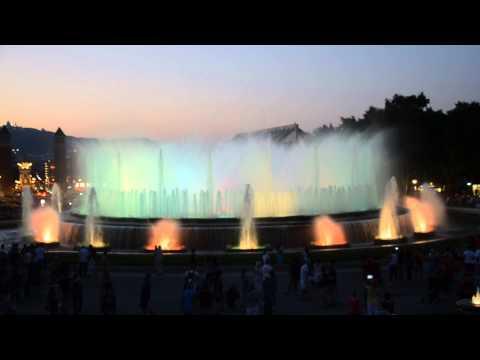 Barcelona Fountains Classics