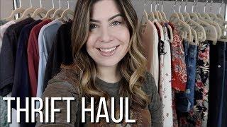 thrift haul to sell on Poshmark | January 2019