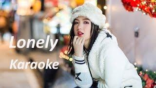 Karaoke 'LONELY' (เหงา) - Jannine Weigel (พลอยชมพู)