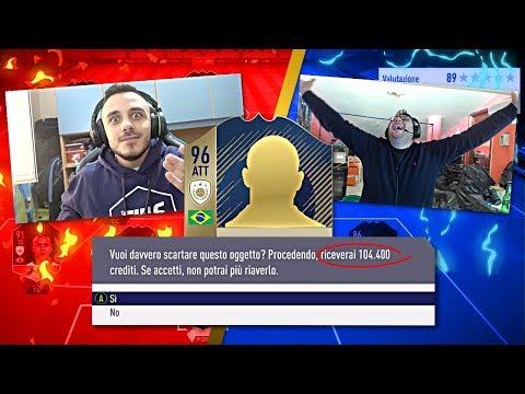 CHI PERDE SCARTA UN'ICONA!!! INDOVINA il CALCIATORE su FIFA 18! w/Tony Tubo