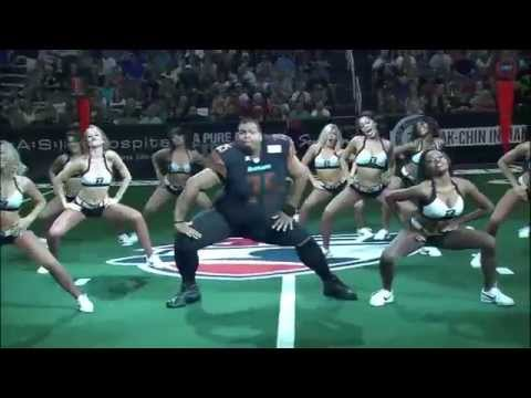 Arizona Rattlers Sidewinders 2015 Playoffs Performance feat (Oscar) Top Cheerleader Video AFL