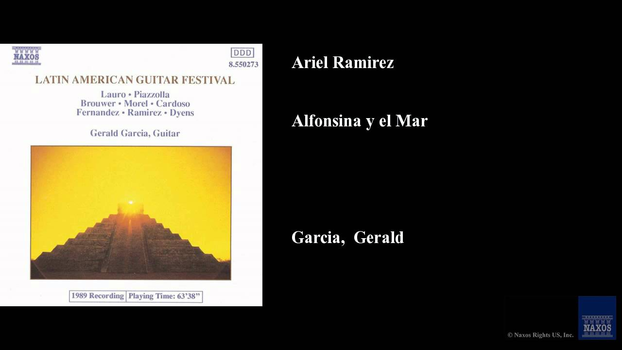 Ariel Ramirez, Alfonsina y el Mar - YouTube